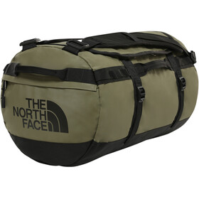 The North Face Base Camp Duffel S, burnt olive green/TNF black